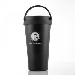 grand mug isotherme noir