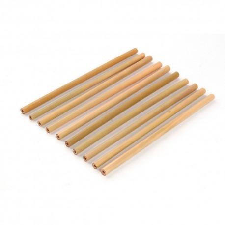 Paille Bambou lot de 10